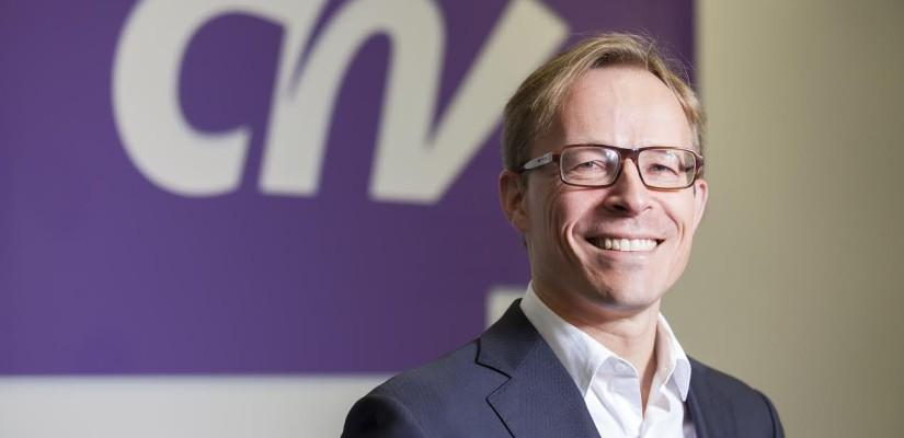 Interview met de voorzitter van CNV; Maurice Limmen